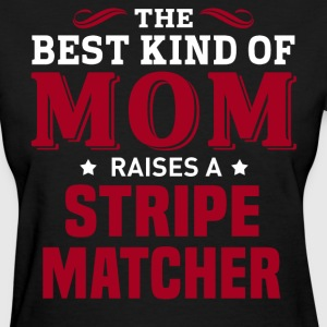 Stripe Matcher MOM - Women's T-Shirt