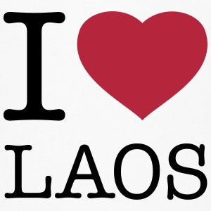 I LOVE LAOS - Women's Flowy T-Shirt