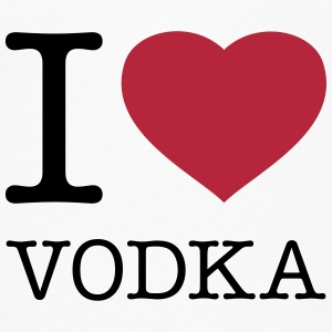 I LOVE VODKA - Women's Flowy T-Shirt