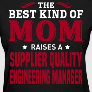 Supplier Quality Engineering Manager MOM - Women's T-Shirt