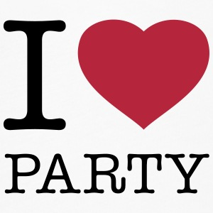 I LOVE PARTY - Women's Flowy T-Shirt