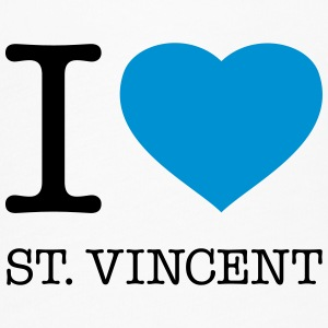 I LOVE ST: VINCENT - Women's Flowy T-Shirt