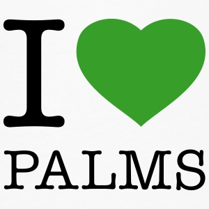 I LOVE PALMS - Women's Flowy T-Shirt
