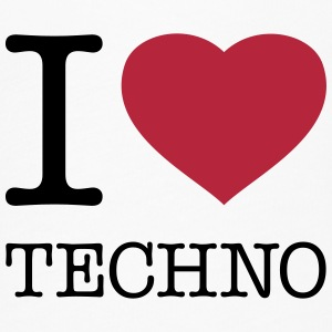 I LOVE TECHNO - Women's Flowy T-Shirt
