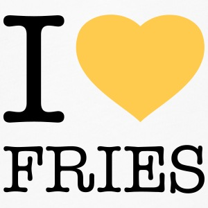 I LOVE FRIES - Women's Flowy T-Shirt