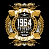 May 1964 53 Years Of Being Awesome T-Shirts - Men's Premium T-Shirt