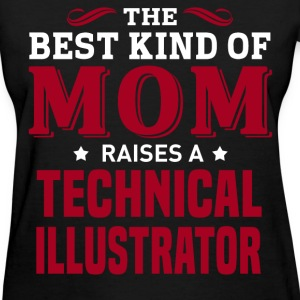 Technical Illustrator MOM - Women's T-Shirt