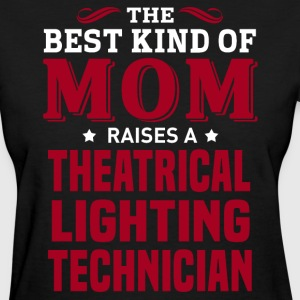 Theatrical Lighting Technician MOM - Women's T-Shirt
