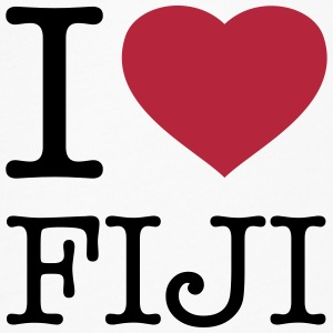 I LOVE FIJI - Women's Flowy T-Shirt