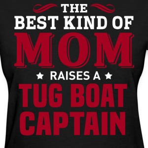 Tug Boat Captain MOM - Women's T-Shirt