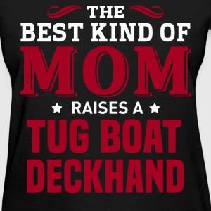 Tug Boat Deckhand MOM - Women's T-Shirt