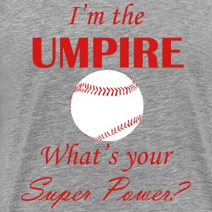 Umpire Super Power - Men's Premium T-Shirt