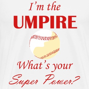 Umpire Super Power - white/cream - Men's Premium T-Shirt