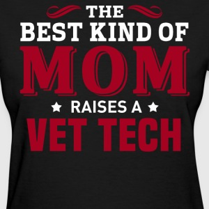 Vet tech MOM - Women's T-Shirt