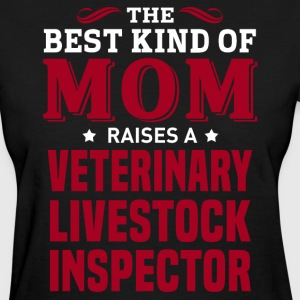 Veterinary Livestock Inspector MOM - Women's T-Shirt