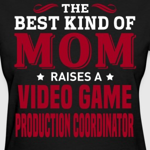 Video Game Production Coordinator MOM - Women's T-Shirt