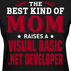 Visual Basic .NET Developer MOM - Women's T-Shirt