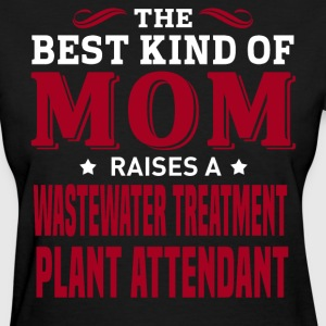 Wastewater Treatment Plant Attendant MOM - Women's T-Shirt
