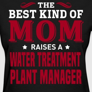 Water Treatment Plant Manager MOM - Women's T-Shirt