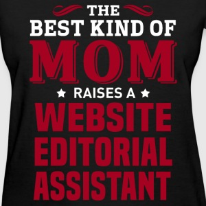 Website Editorial Assistant MOM - Women's T-Shirt