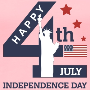 Happy Independence Day T-Shirts - Women's Premium T-Shirt