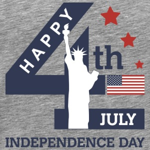 Happy Independence Day T-shirts - T-shirt premium pour hommes