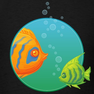 diving_fishes_holidays01 T-Shirts - Men's T-Shirt