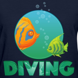 diving_fishes_holidays03 T-Shirts - Women's T-Shirt