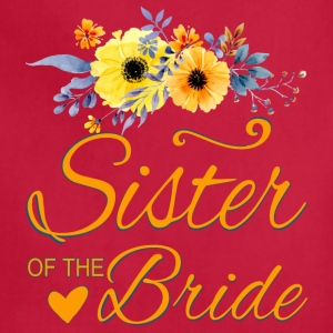 Sister of the Bride - Adjustable Apron