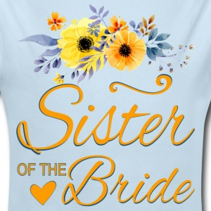 Sister of the Bride Baby Bodysuits - Long Sleeve Baby Bodysuit