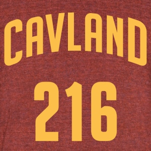 Cavland 216 T-Shirt - Made in USA - Unisex Tri-Blend T-Shirt by American Apparel