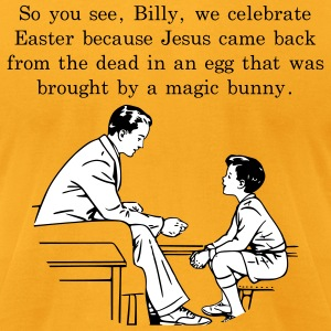 Billy's Easter Lesson T-Shirts - Men's T-Shirt by American Apparel