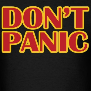Don't Panic - Men's T-Shirt