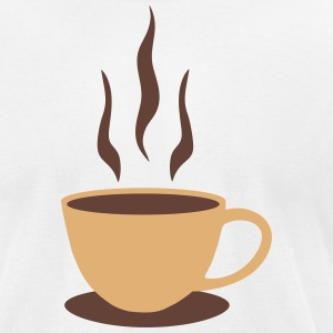 Coffee, Mug T-Shirts - Men's T-Shirt by American Apparel