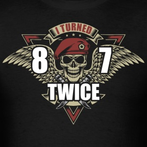 I Turned 87 Twice - Men's T-Shirt