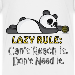 Lazy Panda Baby & Toddler Shirts - Toddler Premium T-Shirt