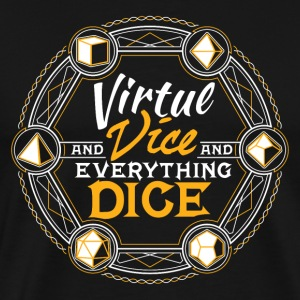 Virtue & Vice Fantasy RPG Tabletop Geek Gear - Men's Premium T-Shirt