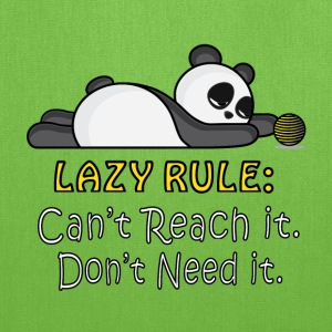 Lazy Panda Bags & backpacks - Tote Bag