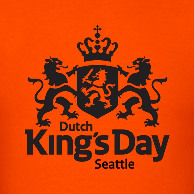 T-shirt Dutch King's Day Seattle