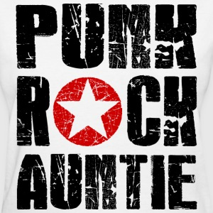 Punk Rock Auntie T-Shirts - Women's T-Shirt
