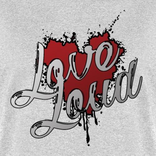 Love Loud Graphic T Splat