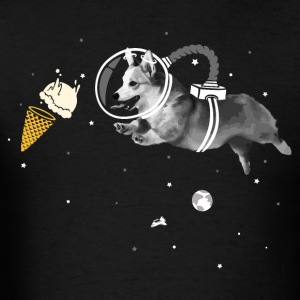 Corgi-naut - Men's T-Shirt