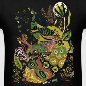 Cosmic Peacock - Men's T-Shirt