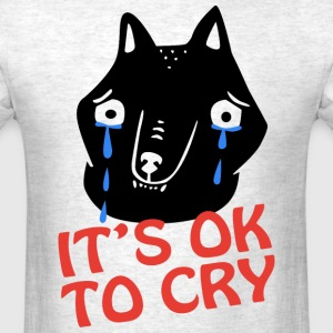 Cry Wolf - Men's T-Shirt