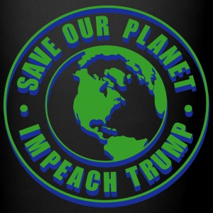 Save our planet impeach trump 3d Mugs & Drinkware - Full Color Mug