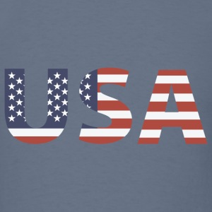 United States - Stars and Stripes T-shirts - T-shirt pour hommes