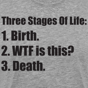 Three Stages Of Life T-Shirts - Men's Premium T-Shirt