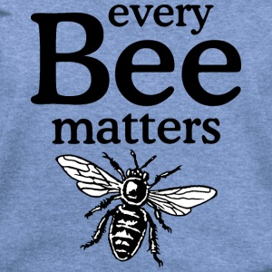 Every Bee Matters Beekeeper Design Long Sleeve Shirts - Women's Wideneck Sweatshirt