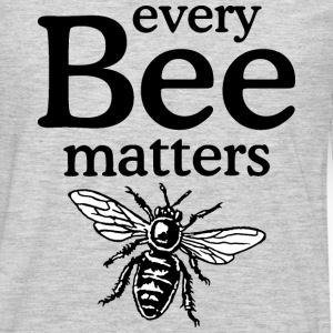 Every Bee Matters Beekeeper Design Long Sleeve Shirts - Men's Premium Long Sleeve T-Shirt