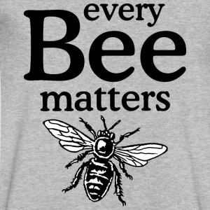 Every Bee Matters Beekeeper Design T-Shirts - Men's V-Neck T-Shirt by Canvas